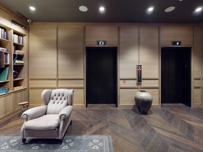 virtual tour Fitler Club floor 1