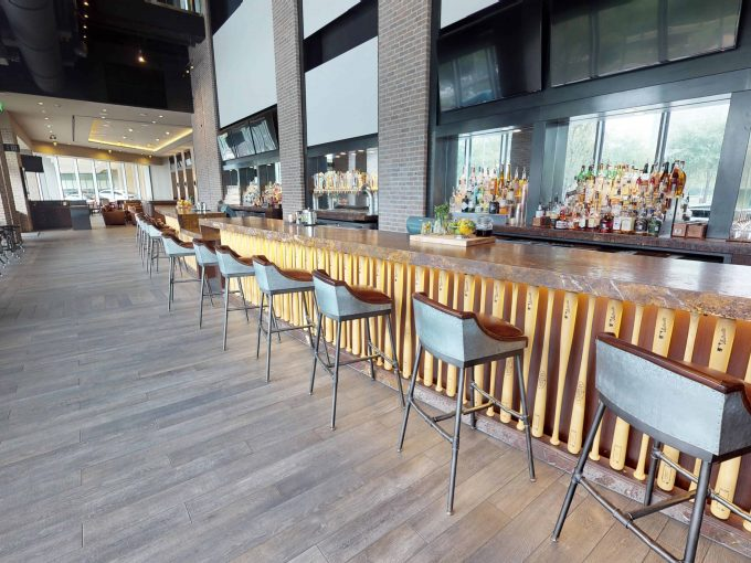 virtual tour Marriott Houston bar