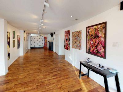 virtual tour urban art gallery