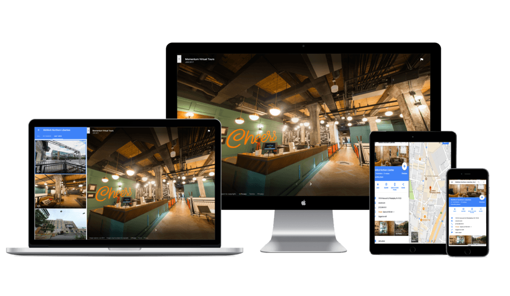 360 virtual tours for devices