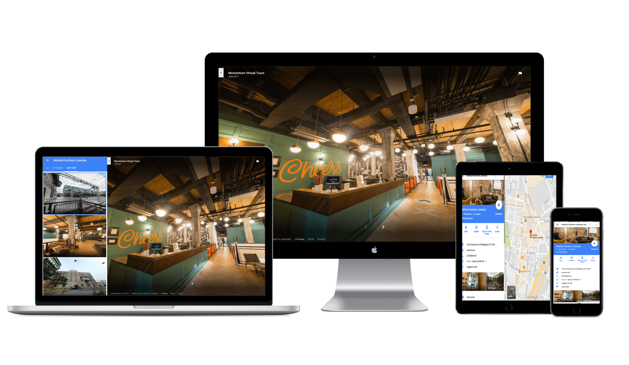 virtual tours for devices