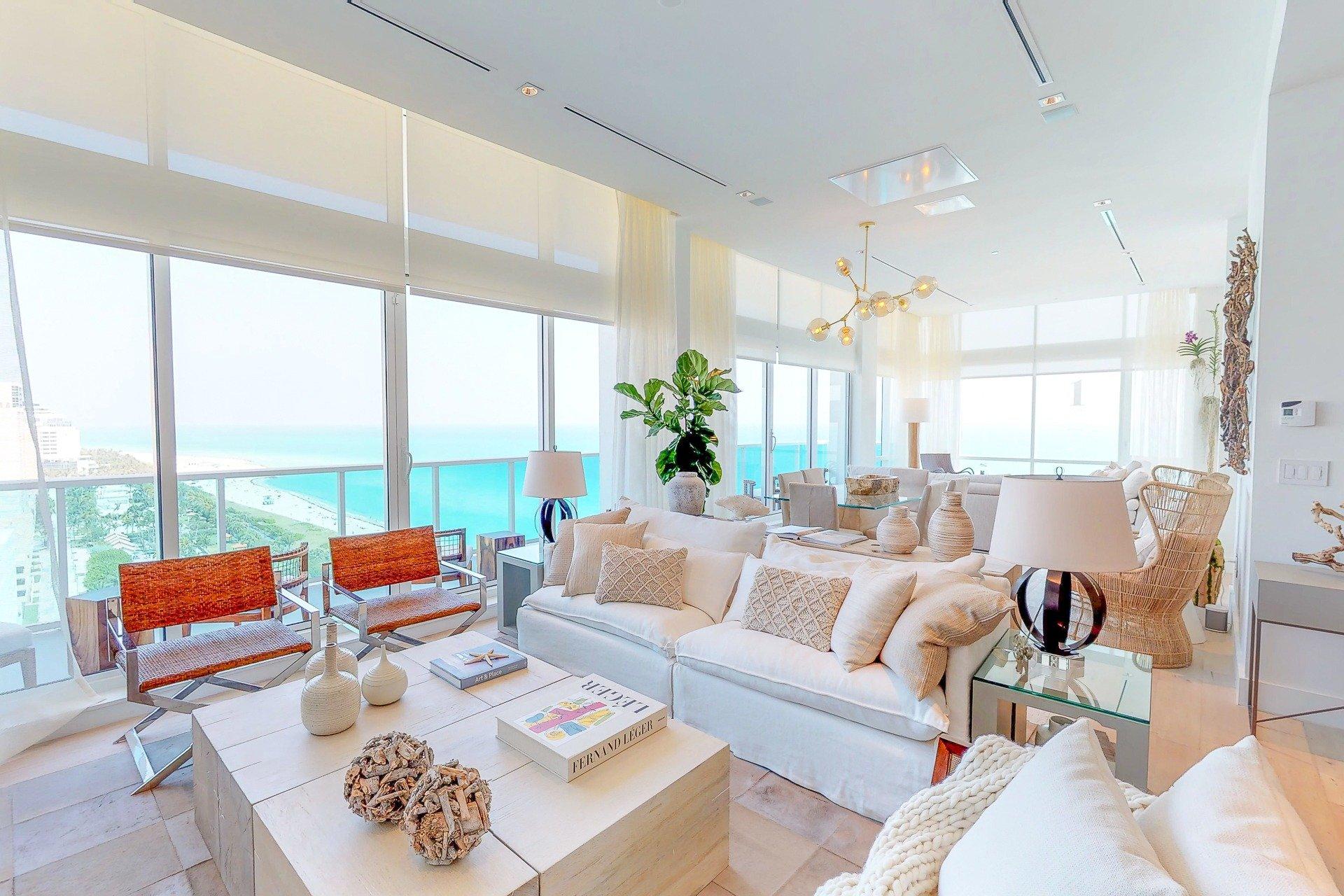 Miami Beach Penthouse Virtual Tour - Momentum 360 | Residential Real ...