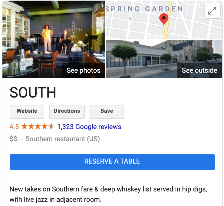 south jazz local seo