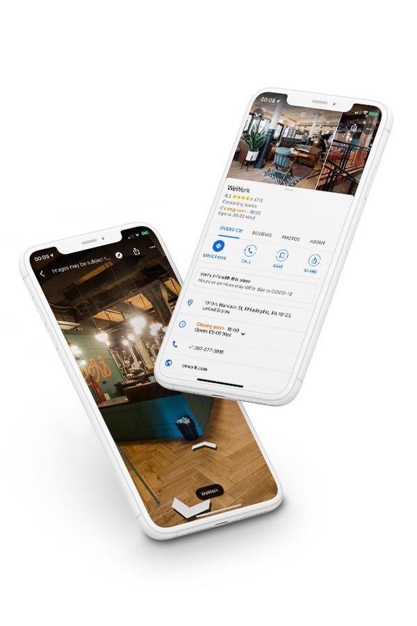 street view virtual tours on devices