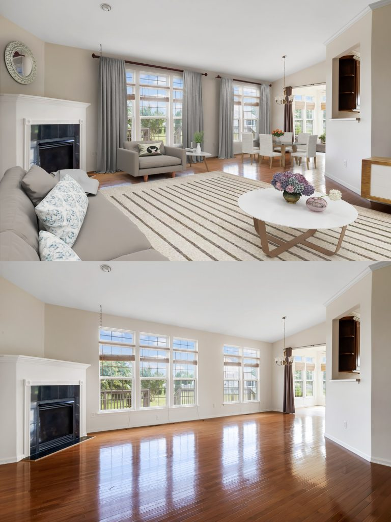 virtual staging for real estate