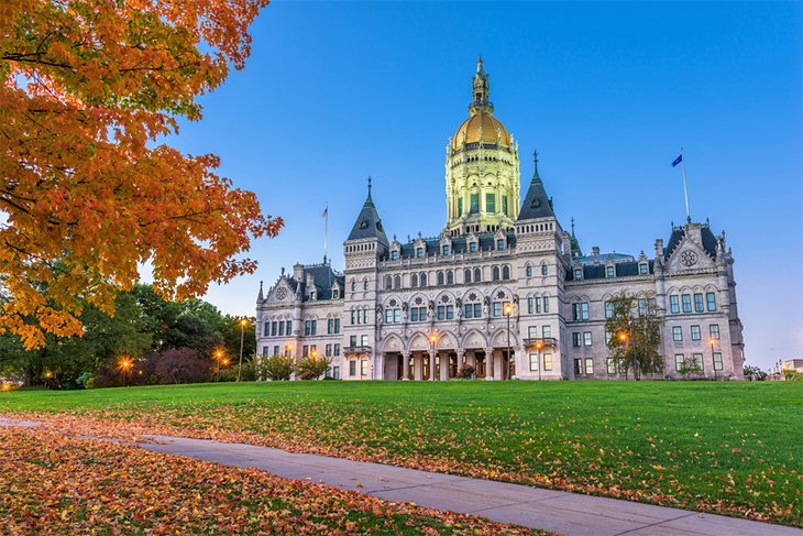 connecticut in pictures most beautiful places to visit connecticut state capital hartford