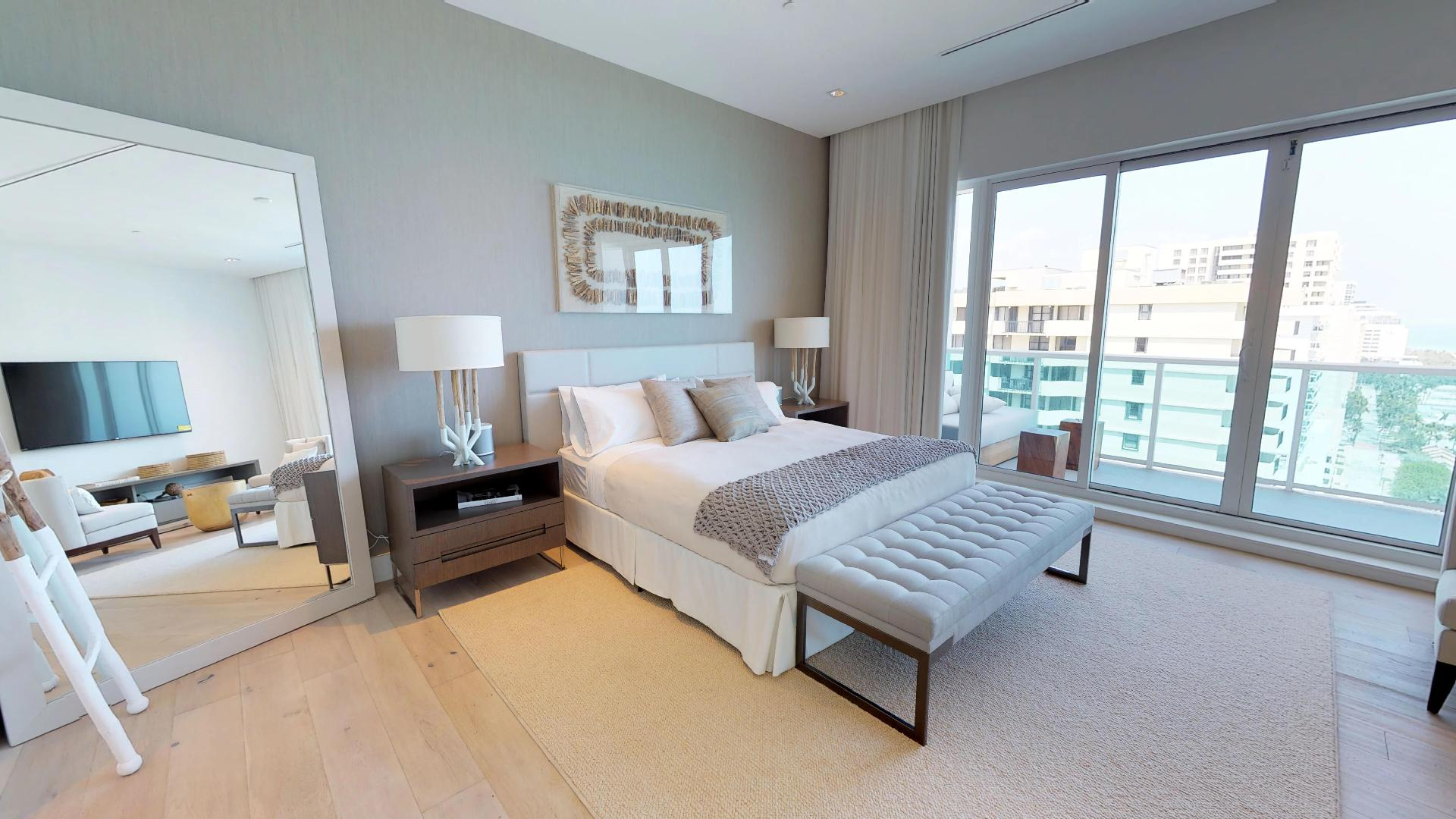 1 Hotel and Homes South Beach Penthouse 1609 First Floor Bedroom
