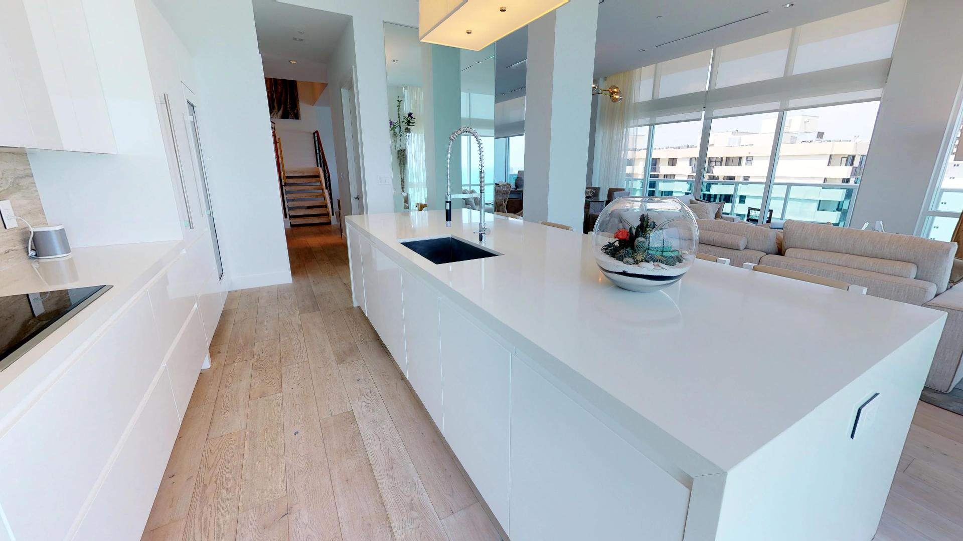 1 Hotel and Homes South Beach Penthouse 1609 Kitchen