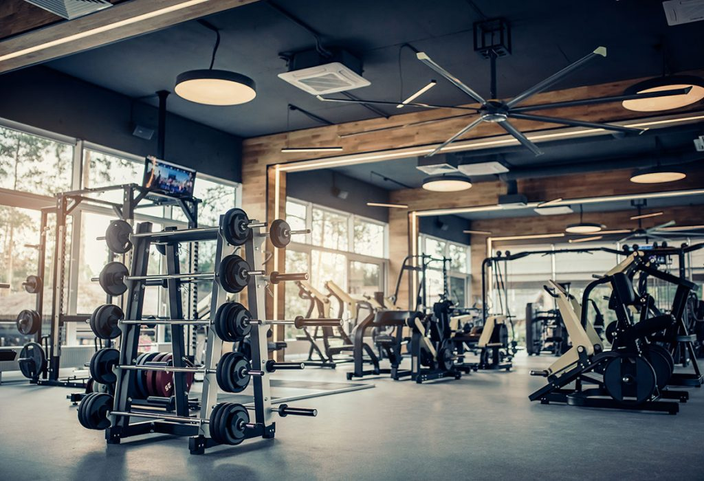 workout gym exercise equipment shutterstock