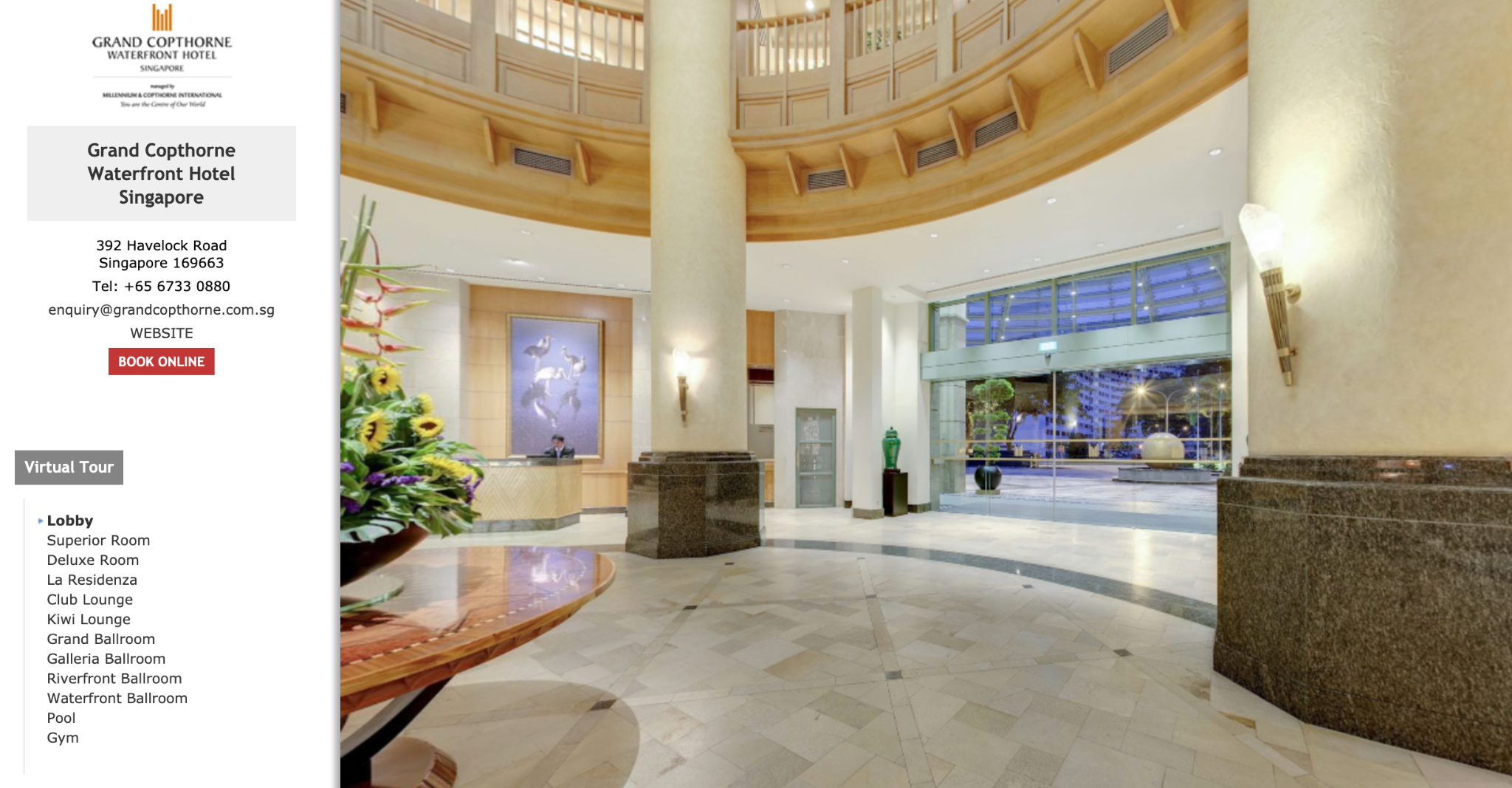 Virtual Tours for Hotels and Resorts