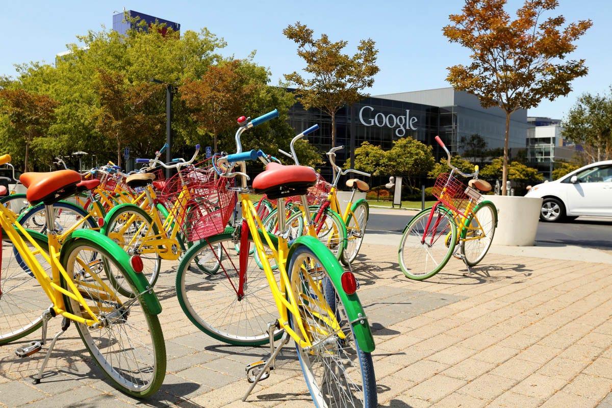 Google Campus Virtual Tour